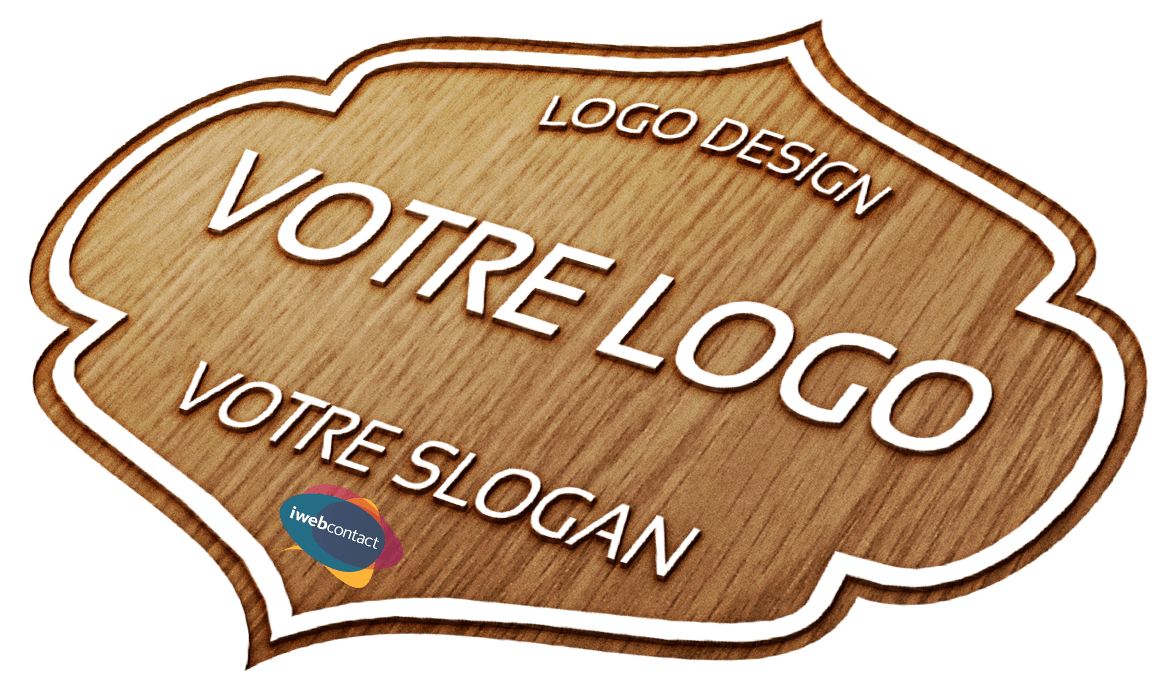 Wood-Engraved-Logo-iWebContact