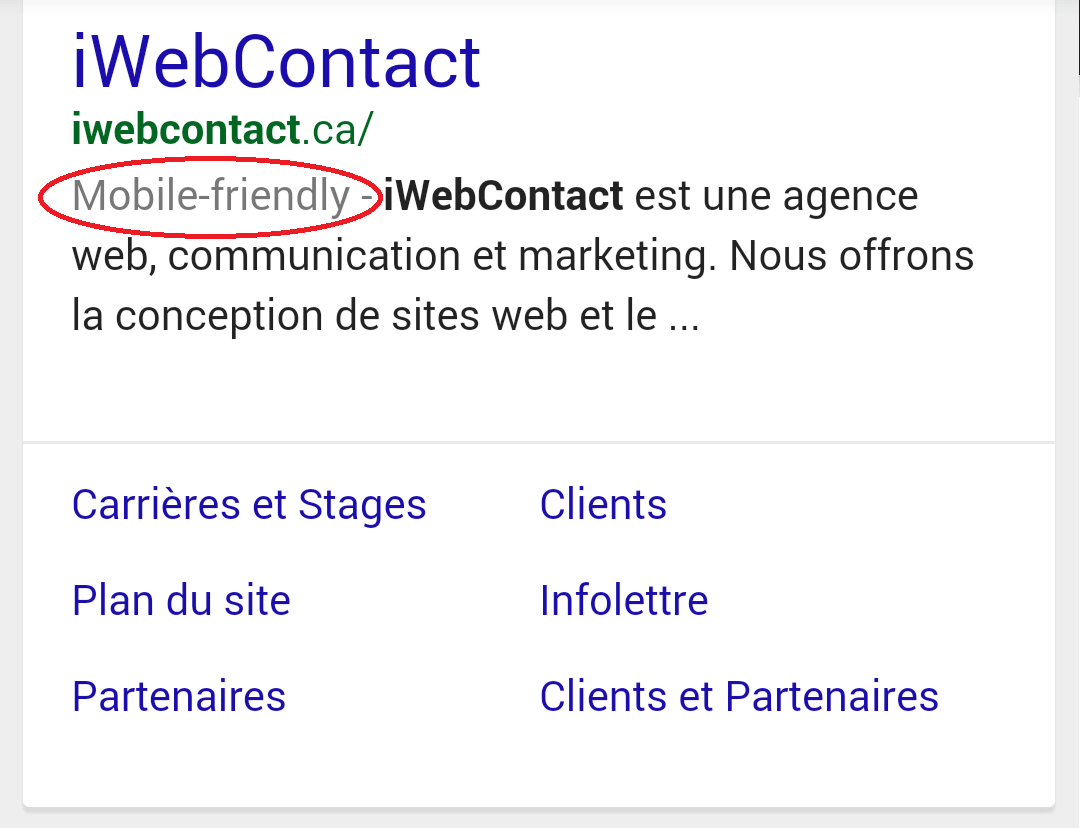 iWebContact.ca Mobile-Friendly